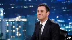 "Jimmy Kimmel, presentador del programa nocturno de entretenimiento de la cadena ABC ""Jimmy Kimmel Live""."