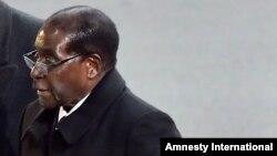 Robert Mugabe, le président du Zimbabwe