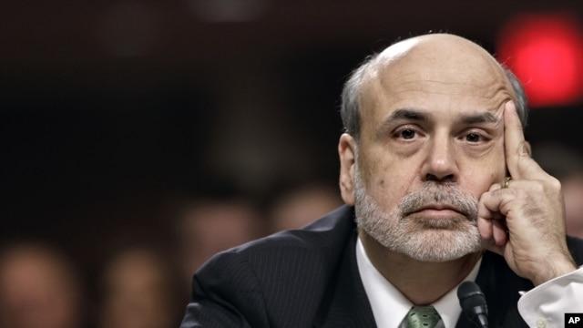 Federal Reserve Board Chairman Ben Bernanke on Capitol Hill, Washington, June 7, 2012.