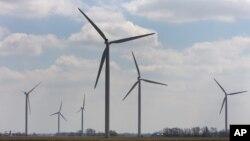Perusahaan China Rails Corporation dilarang membangun turbin angin untuk pembangkit listrik di Oregon.