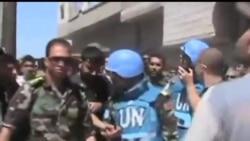 2012-04-22 美國之音視頻新聞: 聯合國觀察員到訪多個敘利亞地區