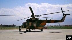 شمار زیاد هیلیکوپترهای دست داشتۀ قوای مسلح افغانستان ساخت روسیه است