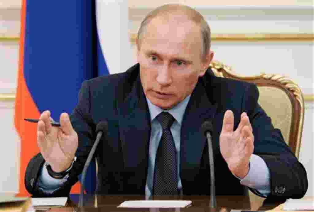 Vladimir Putin, primer ministro de Rusia.