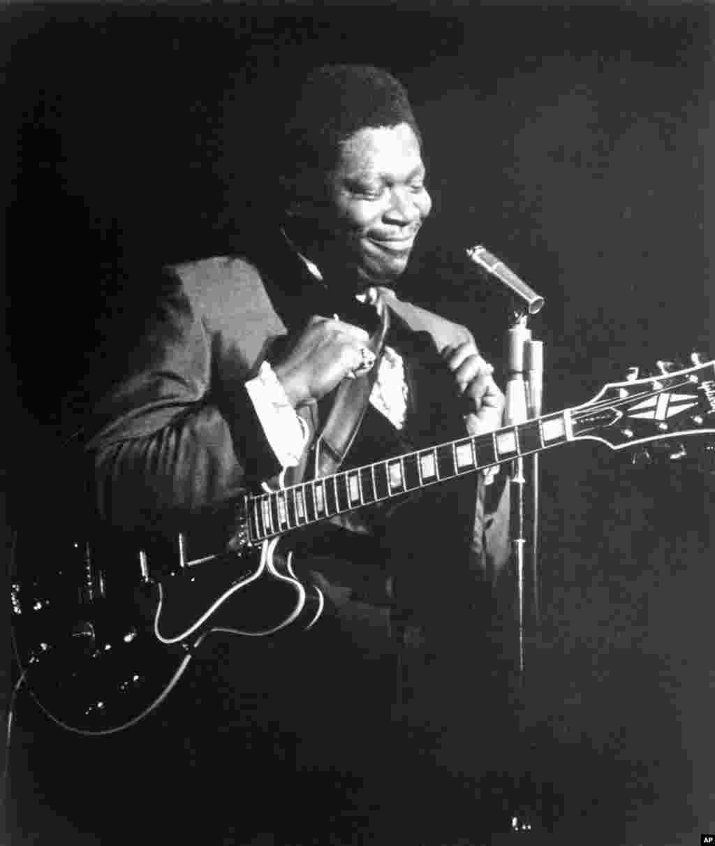 Bluesman extraordinaire, B.B. King