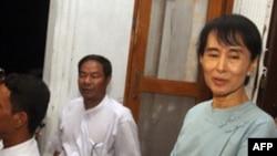 Nhà lãnh đạo đấu tranh cho dân chủ Miến Ðiện Aung San Suu Kyi
