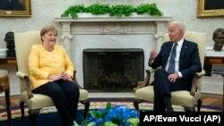 Merkel i Biden se sastali u Bijeloj kući, 15. juli 2021.