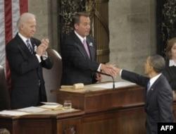 Prezident Obama Vakillar Palatasining yangi spikeri Jon Beynerni g'alaba bilan tabrikladi. Respublikachilar endi bu palatada ko'pchilik.