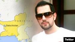 پنجاب کے سابق گورنر سلیمان تاثیر کا بیٹا شہباز تاثیر جو کئی سال تک افغانستان میں طالبان کی قید میں رہا۔ فائل فوٹو