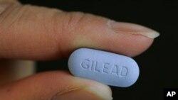 Pil Truvada, produksi perusahaan obat Gilead, diyakini bisa cegah penularan HIV bila diminum rutin sehari sekali (foto, dok.).