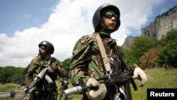 러시아 특수군 군인들. (자료사진)
