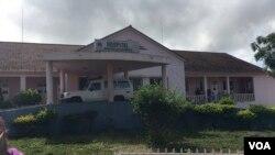 Eles pretendiam protestar contra o administrador do município de Calandula e a direcção do hospital