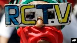 RCTV fue obligada a salir del aire en 2007 durante el gobierno del presidente Hugo Chávez.