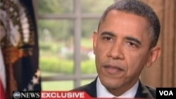 President Obama speaks to ABC News about his support for same-sex marriage