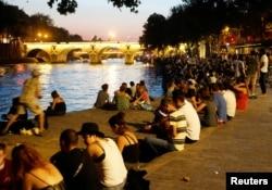 Набережна Сенни, Париж, 14 вересня 2020 (Reuters)