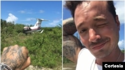 Desde hace unos días, el cantante había compartido con sus fans, fotos y videos de sus vacaciones en las Bahamas.