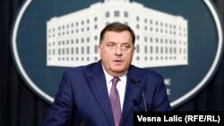 """Dodik predao zahtjev za """"običnu"""" vizu"""