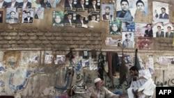 Áp phích của các ứng cử viên trong cuộc bầu cử Quốc hội ở Herat, phía tây Kabul, Afghanistan