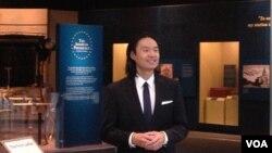 史密松寧博物館亞太美國文化中心主任﹑奧巴馬總統妹夫吳家儒(張蓉湘拍攝)