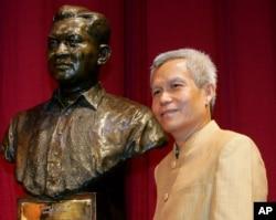 Nhà hoạt động Lào bị mất tích Sombath Somphone. Tháng này, ASEAN sẽ đặc biệt đối đầu với Lào về vụ ông Somphone bị cưỡng bức mất tích.