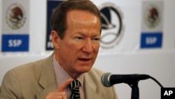El embajador William R. Brownfield, subsecretario de Estado para Asuntos Narcóticos Internacionales y Aplicación de la Ley, viajará a México y Colombia.