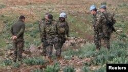 Para anggota pasukan sementara PBB di Lebanon, yang dikenal sebagai UNIFIL (foto: dok).