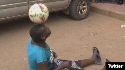 هادهارا چارلز ملکه فوتبال نمایشی تانزانیا