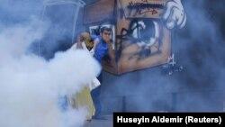 تظاهرات اعتراضی در استانبول ترکیه