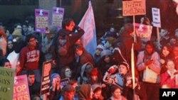 Британські студенти влаштували насильницький протест
