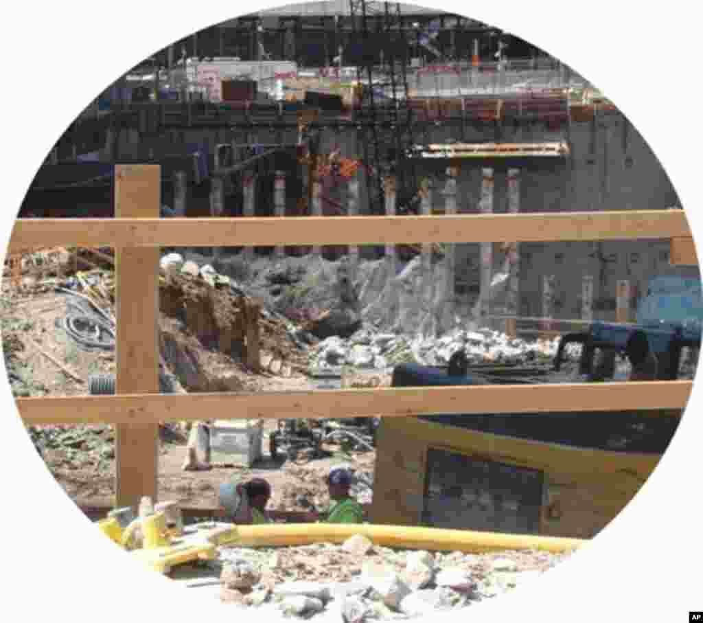 世貿中心工地