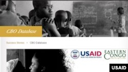 The USAID online database connects NGOs and supporters.