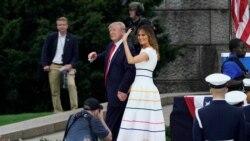 VOA: Trump celebra el 4 de Julio con un discurso en Washington