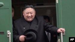 El presidente de Corea del Norte, Kim Jong Un, llegó a Rusia en tren el miércoles 24 de marzo de 2019 para reunirse con su homólogo ruso Vladimir Putin.