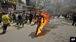 藏人自焚(资料照片)