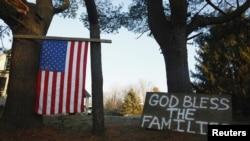 美国康州小学枪击惨案让全国人心碎