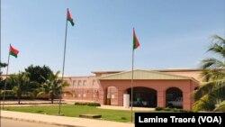 Le Centre hospitalier universitaire de Tengandogo, à Ouagadougou, le 27 avril 2020. (VOA/Lamine Traoré)