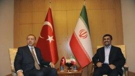 Իրանի նախագահ Մահմուդ Ահմադինեջադի հանդիպումը Թուրքայի վարչապետ Ռեջեփ Թայիփ Էրդողանի հետ, 2011թ. մայիսի 9: