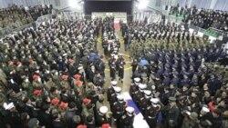 برگزاری آیین خاکسپاری نظامیان کشته شده کره جنوبی
