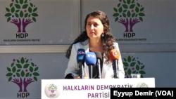 Peyvdara HDP'ê Ebrû Gunay