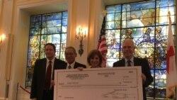 台湾捐助80万美元助美哈维飓风灾区重建
