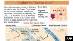 Iraq: Hình ảnh của người Mỹ giảm bớt tại Khu Xanh