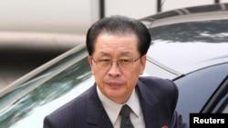张成泽(资料照片 2012年8月17日)
