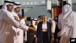 Theresa May in Gulf Cooperation Council