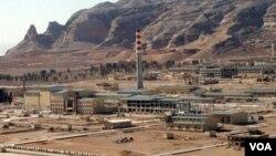 Salah satu fasilitas pengayaan uranium Iran di Isfahan, 410 kilometer sebelah selatan Teheran (foto: dok).