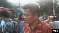 Ketua Komisi Pengawas Persaingan Usaha (KPPU) Muhammad Syarkawi Rauf. (VOA/Andylala Waluyo)