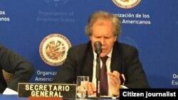 El secretario general de la OEA, Luis Almagro, hizo un llamado a activar mecanismos de cooperación fronteriza.
