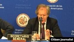El Secretario General de la OEA Luis Almagro hará una pausa en su viaje a México para visitar la zona fronteriza de Cúcuta.
