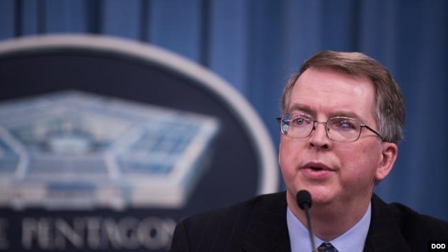 美國國防部主計長諾奎斯特2018年2月12日解釋新國防預算(美國國防部)