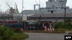 Le port camerounais de Douala, au Cameroun, le 2 decémbre 2013.