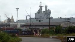 Le port camerounais de Douala, au Cameroun, le 2 decembre 2013
