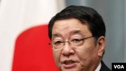 Menteri Sekretaris Negara Jepang Osamu Fujimura (Foto: dok).